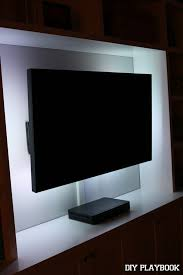 you can use led lighting on your television every day or as a showpiece once in