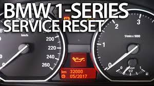 how to reset service reminder in bmw 1 series e81 e82 e87 e88 how to reset service reminder in bmw 1 series e81 e82 e87 e88 inspection