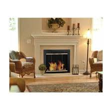 pleasant hearth arrington fireplace screen and bi fold track free glass black and gold powder coated accessory fireplace screen