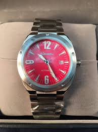 mens watch w date automatic 5 atm water resistant new out rousseau mens watch w date automatic 5 atm water resistant new out tags