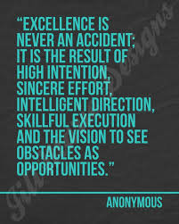 Inspirational Quotes For The Workplace Best Quotes About Success Excellence is never an accident 64