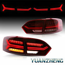 2012 Vw Jetta Brake Light Replacement Details About For 2011 14 Vw Volkswagen Jetta Mk6 Sequential Turn Signal Led Tail Light Lamps