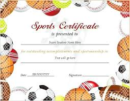 How To Make A Certificate In Word 2010 Certificates In Word Sports Certificate For Ms Word Creating