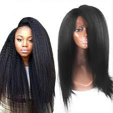 elva hair glueless lace front wigs human hair