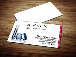 Sales Business Cards Avon Business Card Design 2