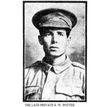 Edward Wilfred Potter | Discovering Anzacs | National Archives of Australia  and Archives NZ