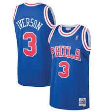 simmons 76ers jersey. men\u0027s mitchell \u0026 ness allen iverson royal philadelphia 76ers 1996-97 hardwood classics swingman jersey simmons u