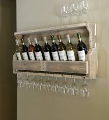 groovy wine racks with glass storage designs for you cool rustic wooden wall