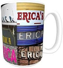 Amazon.com: ERICA Coffee Mug / Cup - using photos of real name ...