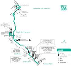 San Francisco Free Medical Chart Route 398