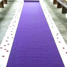 purple rug runners runner red carpet new arrival wedding favors fabric aisle uk