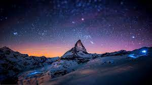Night Mountain Wallpaper HD ...