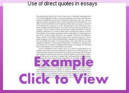 direct qoute use of direct quotes in essays coursework academic service