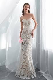 Designer Sheath Wedding Dresses Strapless Sheath Detachable Overskirt Wedding Gown Lunss