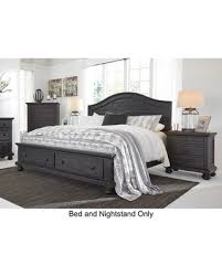 king storage bed. Sharlowe King Bedroom Set With Storage Bed And Nightstand In H