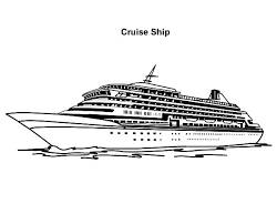 Cruise Coloring Pages Page A Ship Disney Wuyedh