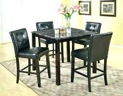 round glass bistro table set black pub table set black pub table set large size of