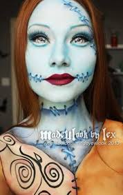 sally the nightmare before inspired makeup tutorial