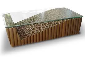 Cardboard 307 Tube Coffee Table