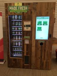 Salad Vending Machine Chicago Classy Healthy Vending Machine With Salads Fruit Yelp