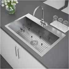 elegant 16 gauge stainless steel kitchen sink top mount