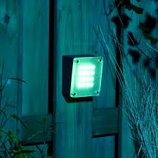 techmar halo garden 12v led wall lighting