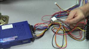 how to connect the power to jamma boards youtube jamma harness 6 button at Jamma Wiring Diagram