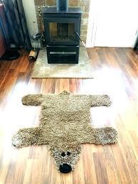 bear skin rug polar rugs faux bearskin small size of white with head be black bear rug faux woodland nursery skin