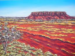 australian outback paintings 1