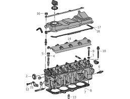 mk2 golf engine cylinder head bolts gaskets rocker gaskets 103 500 golf 1