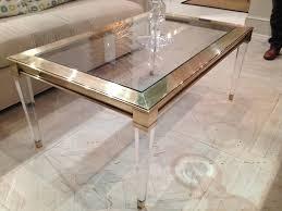 Acrylic Glass Coffee Table Coffee Table Chic Acrylic Coffee Table Design Ideas Acrylic