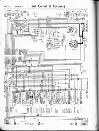 57 65 ford wiring diagrams 1961 6 cyl falcon