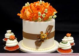 fall wedding cupcakes. Contemporary Cupcakes Cupcake Stand Topper Cake With Orange Velvet In Fall Wedding Cupcakes