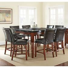 dining room chairs counter height. scott counter height table and 8-chair dining set room chairs e