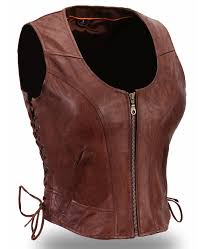 the walking dead michonne leather vest