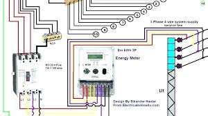 single phase three wire diagram motor 2 line for house wiring image