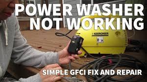 pressure washer repair oaonan gfci plug electric pressure pressure washer repair oaonan gfci plug electric pressure washer not working