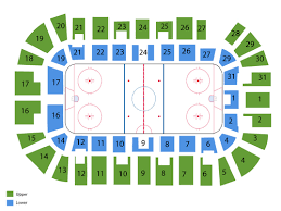 Sound Tigers Seating Chart Springfield Thunderbirds Tickets At Massmutual Center On January 25 2020 At 7 05 Pm