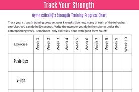 3 Ways To Track Your Gymnastics Progress Free Downloads