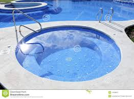Outdoor Jacuzzi Jacuzzi Outdoor Blue Swimming Pool Stock Photos Image 14632863