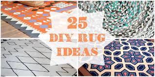 [tps_header] 25 DIY Rugs @Remodelaholic