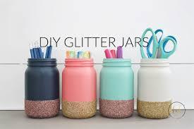 supplies glass jars
