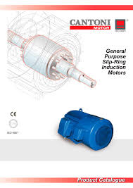 general purpose slip ring induction motors 1 12 pages