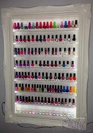 diy nail polish organizer luxury 13 best images about case polish on of diy nail