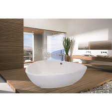 Photo 2 of 5 Compact Biggest Bathtub Ever 89 Freestanding Acrylic Bathtub  With Largest Bathtub In The World ( Biggest