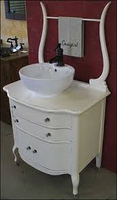 washstand bathroom pine: photo of side view antique bathroom vanity antique washstand for bathroom sink vessel sink amp price pfister faucet