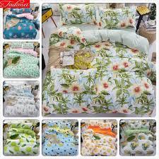 classical 3pcs 4pcs bedding set sot cotton bed linens single twin queen king size duvet