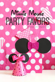 minnie mouse party favors on girllovesglam com