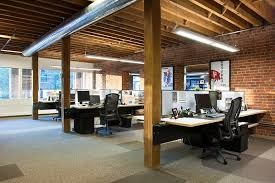 modern office cubicle design. Modern Denver Architecture Open Work Space Desk Cubicle Office Design D