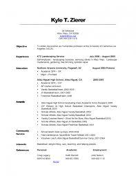 Landscaping Objective Resume Sample Landscaping Resume Samples Sevte 4